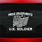 Proud Army Grandparents #1 Car Decal Window Vinyl Sticker Mom Dad USA 20 COLORS!