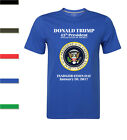 2017 President Donald J. Trump Inauguration Day Short Sleeve T-Shirt Mens S-2XL