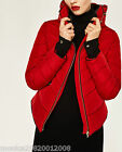 ZARA RED PUFFER QUILTED JACKET SIZE SMALL REF 8073 225