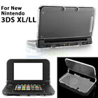 2 PCS Crystal Protective Hard Clear Case Cover Shell for New Nintendo 3DS XL LL