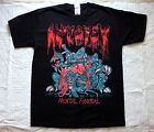 AUTOPSY MENTAL FUNERAL'91 DEATH ABSCESS OBITUARY REPULSION BLACK T-SHIRT