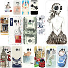 For Samsung Phone TPU Silicone Skin Patterned Rubber Ultra Slim Soft Case Cover