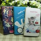 Rabbit Tiger Cat Wallet Kickstand Flip case cover for Sony Xperia Phone