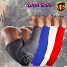 Sports Compression Elbow Pads Support Crashproof Arm Sleeves Basketball Football