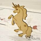 MDF Lasercut Unicorn Shape, Blank, Wooden, Childrens, Magical, animal