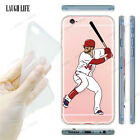 For iPhone Models AMERICAN SPORTS Nba Baseball Custom Case Cartoon Gel Tpu Cover