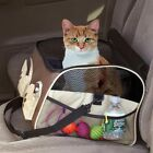 Pet Carrier Car Seat Booster Tote Cat Dog Puppy Travel Bag Soft Crate 2 SIZES
