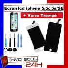 VITRE TACTILE IPHONE 5S / 5C / 5 / 5 SE + ECRAN LCD SUR CHASSIS Grade AAA + FILM