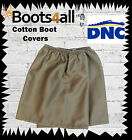 Over Boots Gaiters Boot Protectors Guards Cotton Khaki Landscaping Hiking Mining