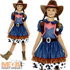 Texan Cowgirl Girls Fancy Dress Rodeo Wild West Western Kids Childs Costume New
