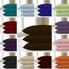Pillow Case Pair 100 % Thread Count Polycotton Housewife Pair Pack Bedroom