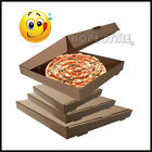 Pizza Box Kraft Brown Take away (12,14,18 inch ) Postal Box