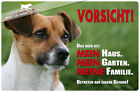 ! JACK RUSSEL TERRIER ! Metall Warnschild .02