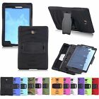 Shockproof Armor Rugged Rubber Hard Tablets For Samsung Galaxy Tab A 7/8/10.1