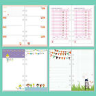 A5/A6 Colourful Month/Week/To Do Planner Diary Insert Refill Schedule Organiser