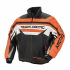ARCTIC CAT Men's Orange Sno Pro Premium Snowmobile Jacket, 5250-36_