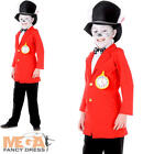 White Rabbit Boys Fancy Dress Fairytale World Book Day Kids Childrens Costume