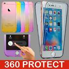 Shockproof 360° Silicone Protective Clear Case Cover For Apple iPhone 7 7 Plus