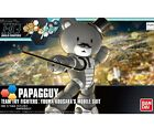 PETIT'GGUY Bear HG PAPAGGUY Yuuma Kousaka' Mobile Suit 1/144 Model kit Bandai