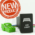 TOYOTA LIGHT SWITCH THE NEW HILUX 2015-on  Blue LED back lit HIGH FINISH QUALITY