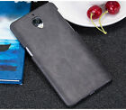 Mofi Classical Vintage Leather Hard Back Protective Case Cover For OnePlus 3 3T