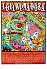 LOLLAPALOOZA MUSIC FESTIVAL 2016 Poster Concert Lineup [Multiple Sizes]