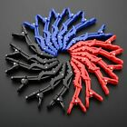 Salon Home DIY Hair Clips Crocodile Style Plastic Hairdressing Sectioning Clamps