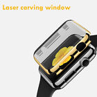 Luxury For Apple Watch Case Cover Slim Protective Shell Clear Window 38 42 MM