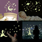 Luminous Wall Sticker Glow In The Dark Star Moon Baby Kids Room Home Decordecal