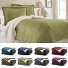 RC Collection Warm Plush Sherpa Comforter Blanket - King & Queen Size