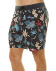 New Globe Men's Shangri La 2 Mens Boardshort Polyester Mens Swimwear Black