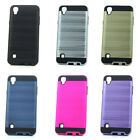 Lot/6 Brushed Finish Hybrid Case for LG Tribute HD, X Style LS676 Wholesale