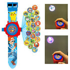 2017 Pokemon Pikachu 24 Patterns Projection Watches Children Funny Gifts New