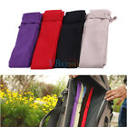 Cotton Cloth Rod Bag Fishing Rods Pole Protector Sleeve Cover Fish Tackle Pouch
