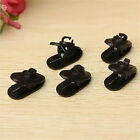 5X Clips For Headphone Earphone Cable Wire Cord Nip Clamp Holder Mount Collar FS