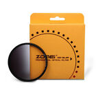 Zomei40.5/49/ 52/55/58/62/67/72/77/82mm Grey Neutral Density ND Filter