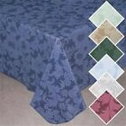 NEW ~ Vinyl Bordeaux Pearlized Table Cover Round Oblong Flannel Backed