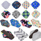 S/M/L/XL 56 Patterns Reusable Bamboo Cloth Washable Menstrual Pad Mama Sanitary