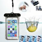 Universal Waterproof Underwater Dry Pouch Bag Phone Case For iPhone 7 SE 5S 6/6S