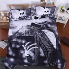 Bedding set  Nightmare Before Christmas Duvet Cover Twin Queen King  Sheet free