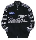 2017  Authentic Mustang Cotton Jacket JH Design Black Gray New