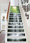 3D High streams 22 Stair Risers Decoration Photo Mural Vinyl Decal Wallpaper US