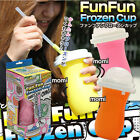 Slushy Maker Fun Fun Frozen Cup reusable MAKE SLUSHIES & SHAKE IN SECONDS!NEW!