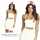 Scrub Nurse Uniform Costume Womens Doctor Adult Fancy Dress Hen Party Outfit