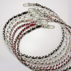 handbag real leather chain strap replacement silver shoulder crossbody bag purse