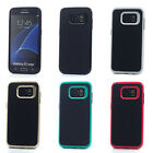 Lot/6 Wired Finish Hybrid Case for Samsung Galaxy S7 edge Wholesale