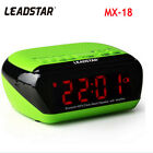 Leadstar Portable Wirelss Alarm Clock Bluetooth Speakers Hands-free Calls LCD