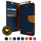 [IN-STOCK] for Galaxy S8 Case, GOOSPERY® Canvas Diary Flip Stand Wallet Cover