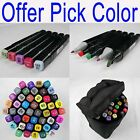 46 95 120 162 Pc Color Touchthree Sketch Marker Pen Bag Manga Twin Tip Sales