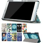 PU Leather Painting Case Cover For 7 Inch Lenovo Tab 3 7 Plus 7703 7703X/F+Film